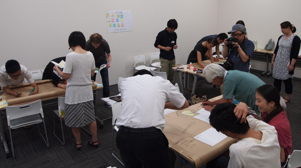 Co-creative workshop 'Rethinking the future of machiya'